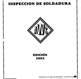 Programa de inspección de soldaduras